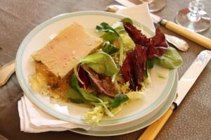 Assiette-foie gras